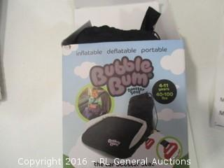 Bubble Gum the car booster seat