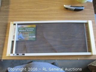 Adjustable Window Screen