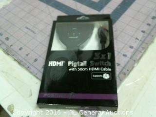 HDMI Pigtail switch
