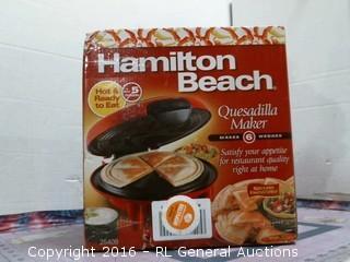 Hamilton Beach Quesadiila Maker