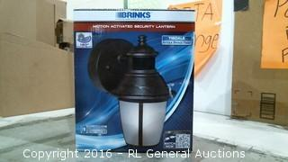Brinks Motion Activated Security Lantern