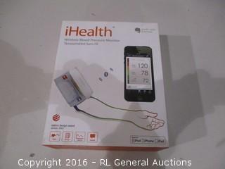 Wireless Blood Pressure Monitor