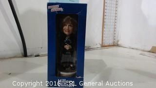 Hillary 2016 Bobble Doll