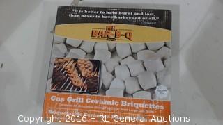 Gas Grill Ceramic Briquettes