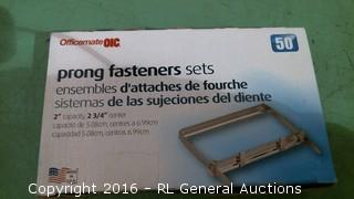 Prong Fasteners