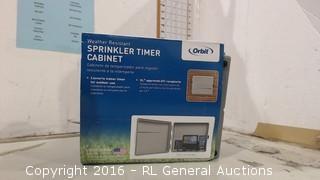 Sprinkler Timer Cabinet