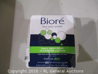 Biore Cleansing Cloths