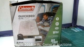 Coleman Quick bed