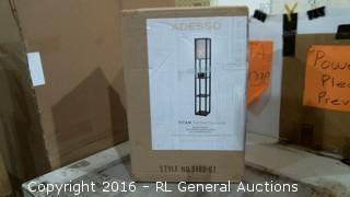 Tall Shelf Floor Lamp