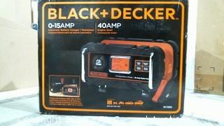 Black & decker Automatic Battery Charger