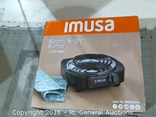 IMUSA Electric Single burner