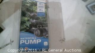 Waterfall Pump