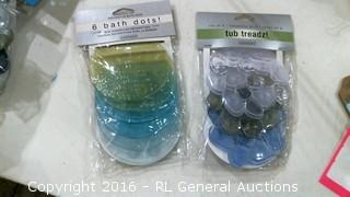 Tub Treadz and bath dots