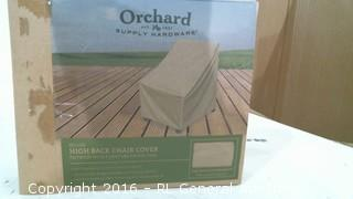 High Back Chair Covedr