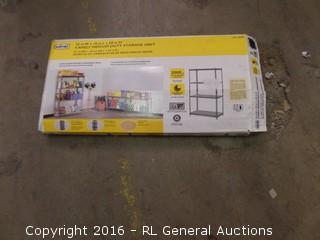 4 Shelf Medium duty Storage Unit