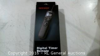 Deewer Digital Timer Remote
