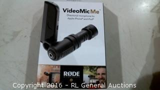 Video Mic Me Directional Microphone for Apple iPhone and iPad
