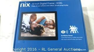 "Nix 10"" Digital Frame"