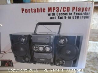Portable MP3/CD Player