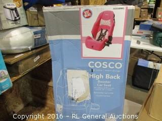 High Back Booster Car Seat