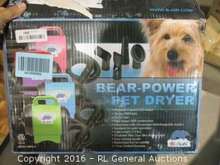 Bear Power Pet Dryer