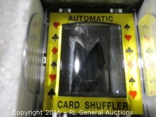 Rotating Card Shuffler and accessories