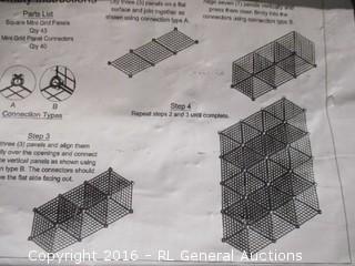 Mini Grid Cube Unit