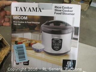 Tayam rice cooker/steamer