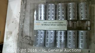 Metal Silver Lanterns