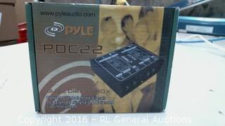 Pyle  dual direct box