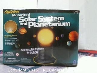 Solar System and  Plantetarium