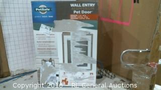 Pet safe Wall entry