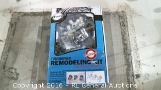 Tub Shower Remodeling Kit See Pics