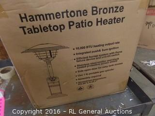 Hammertone Bronze Patio Heater