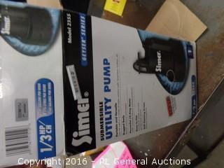 Simer Utility Pump