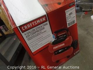 Craftsman 4 gallon Stack Tank Air Compessor