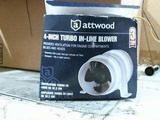 4-inch Turbo In-Line Blower