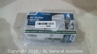 RV Gutter Spouts