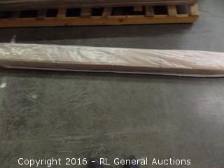 Euralyptus wood Stall Bar may be missing parts