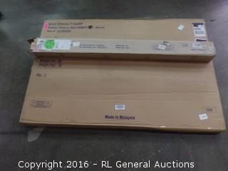 Padded Platform Bed GDBD/FTBD Incomlete Set