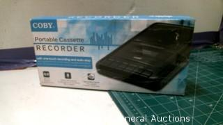 Porable Cassette Recorder