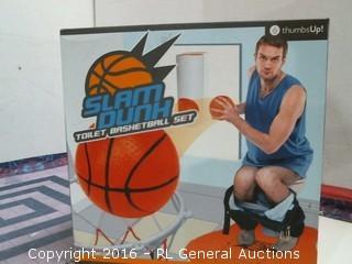 Toilet Basketball set