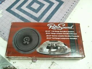 Retro Sound Speaker