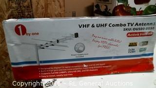 VHF & UHF Combo TV Antenna
