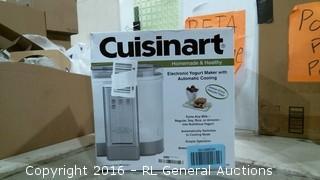 Cuisinart Electronic Yogurt Maker