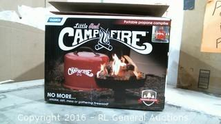 Camp Fire Portable PRopane campfire