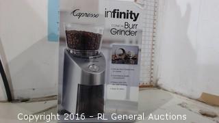 Infinity Capresso Burr Grinder