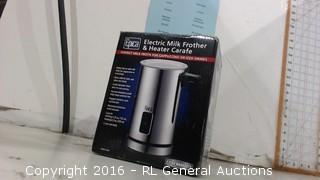 Electric Milk Frother & Heater Crafe
