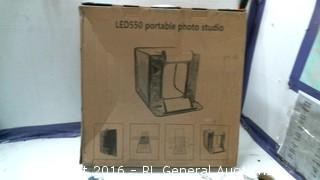 LED 550 portable photo studio