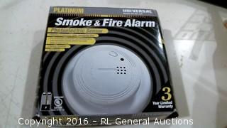 Smoke and Fire Alarm